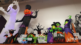 Halloween decorations at Home Depot