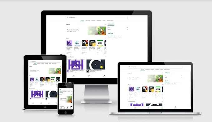 Google Play Store v2 Blogger Template Free Download