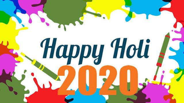 Happy holi wishes 2020