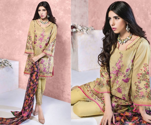 Ethnic By Outfitters Luxury Eid Collection 2016/2017 with Prices