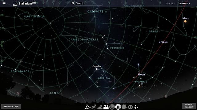 Nebo je veliko - gde gledati?