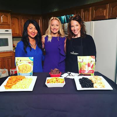 Iowa Academy of Nutrition and Dietetics KCCI News Media with Iowa Choice Harvest