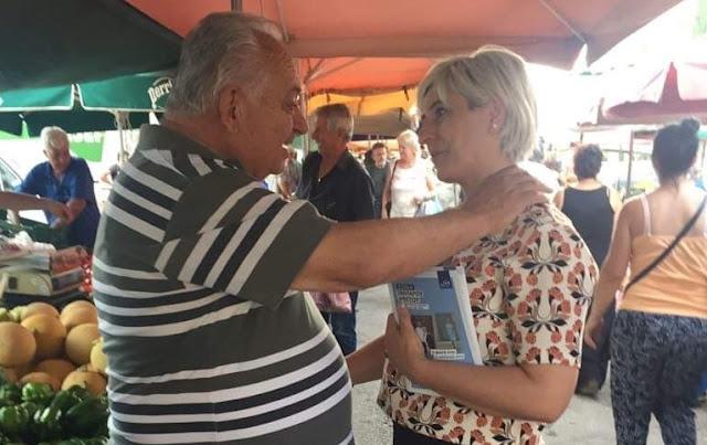 Σε καθημερινή επαφή με τον πολίτη η Σόνια Τάνταρου Κρίγγου