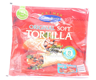 Santa María original soft tortilla