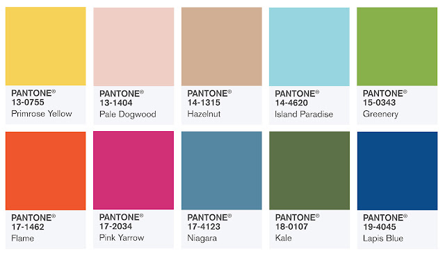 PANTONE Fashion Color Report Spring 2017