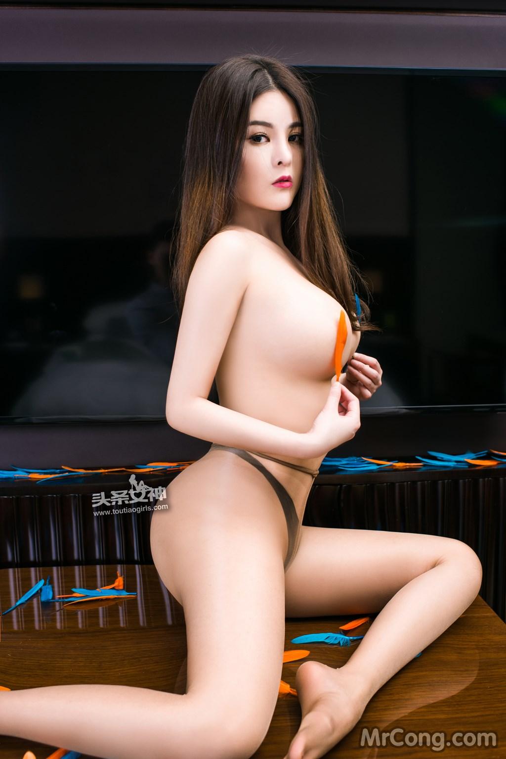 Image MrCong.com-TouTiao-2017-02-11-Tong-An-Qi-016 in post TouTiao 2017-02-11: Người mẫu Tong An Qi (童安琪) (27 ảnh)
