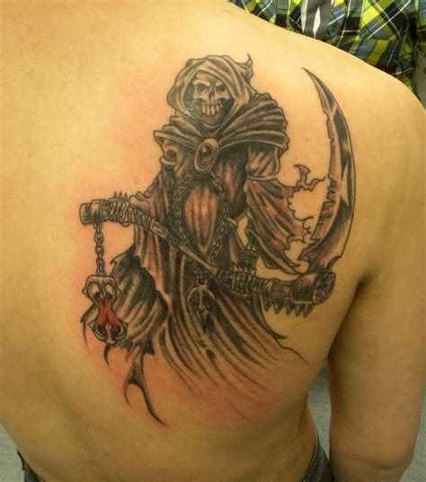 Top 85+ Angel Of Death Tattoos & Designs With Meaning