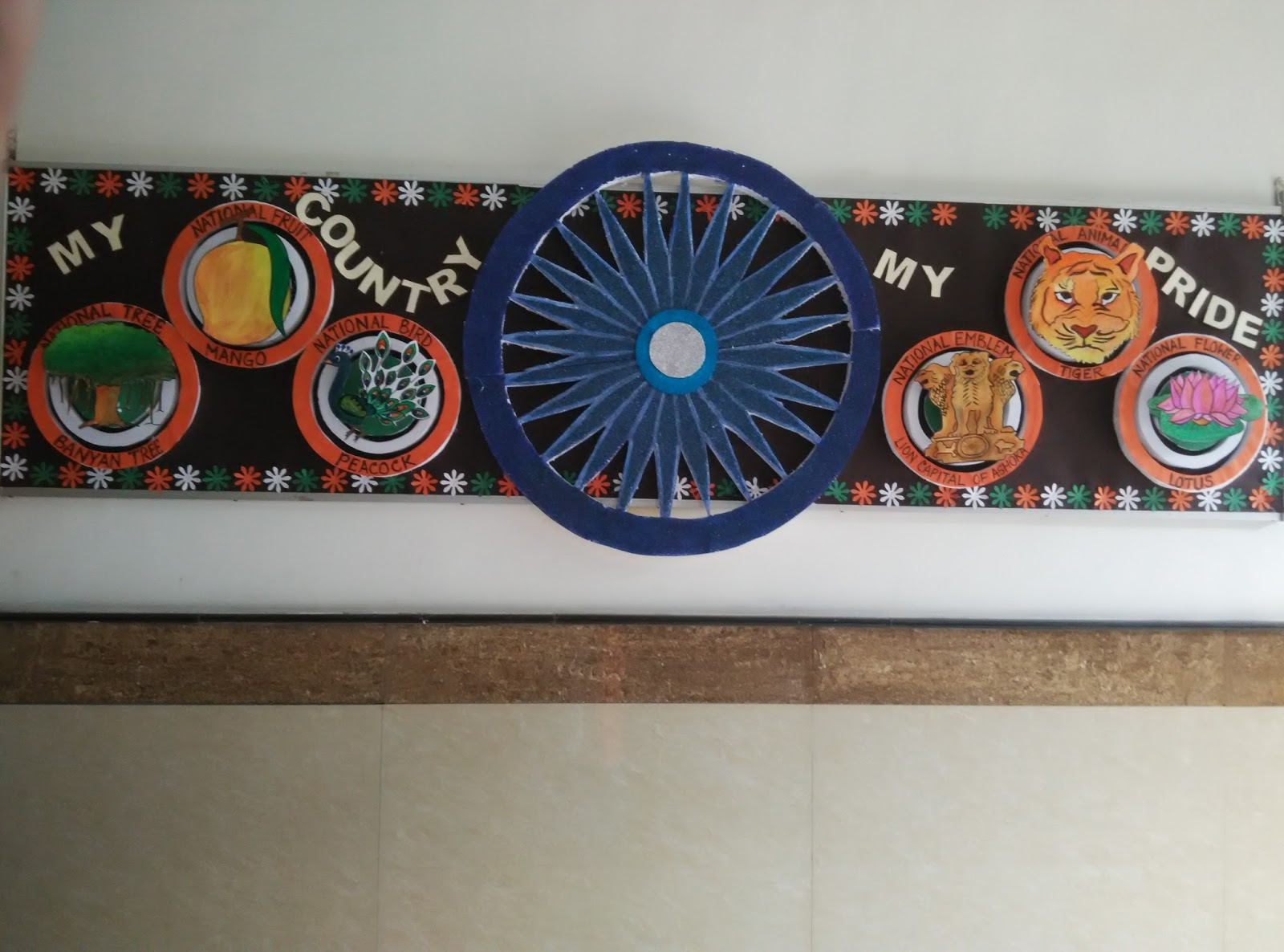 Art craft ideas and bulletin boards for elementary for 15th august independence day decoration ideas