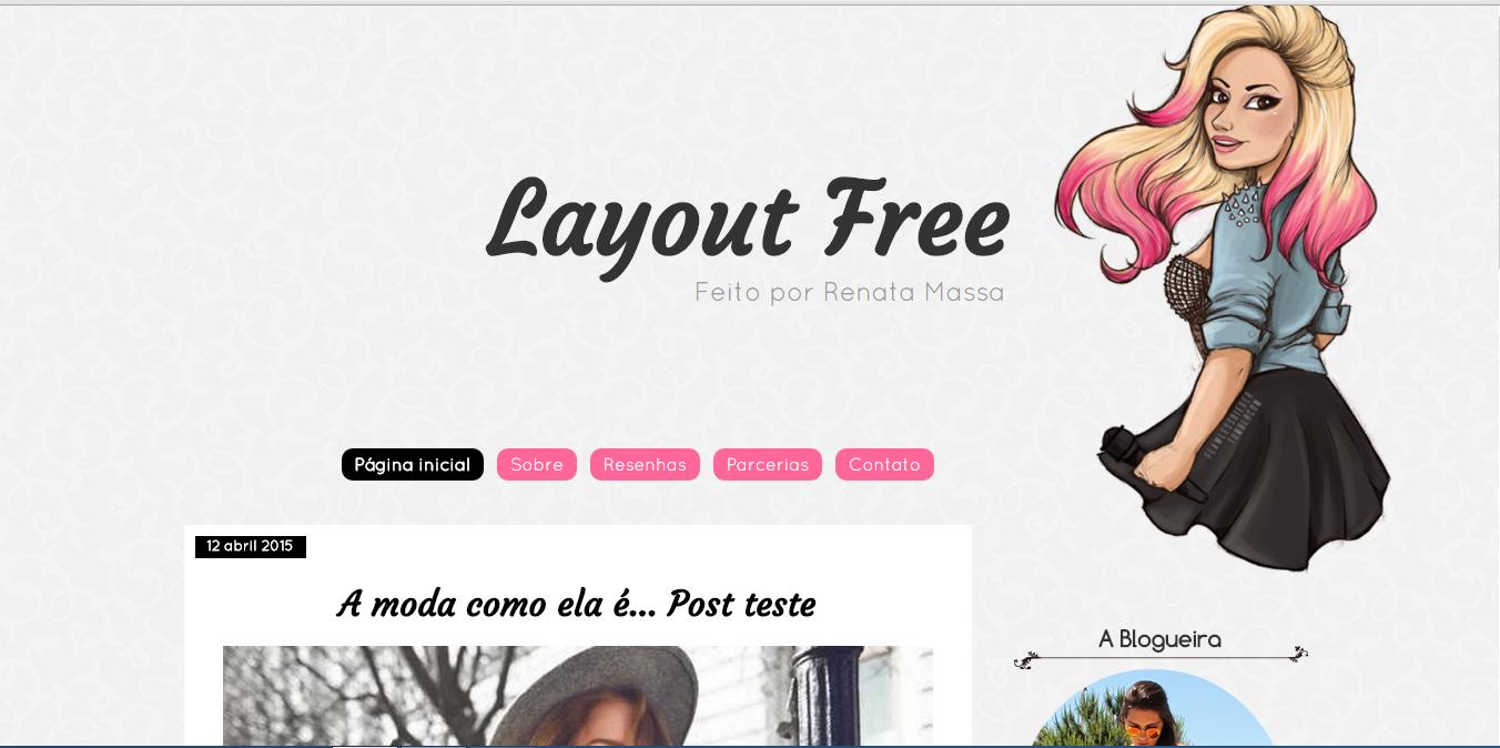 Layout Free Feminino