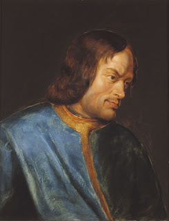 Portrait of Lorenzo de' Medici by the Flemish Baroque painter Peter Paul Rubens