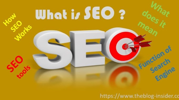 What is SEO? Search engine optimization.