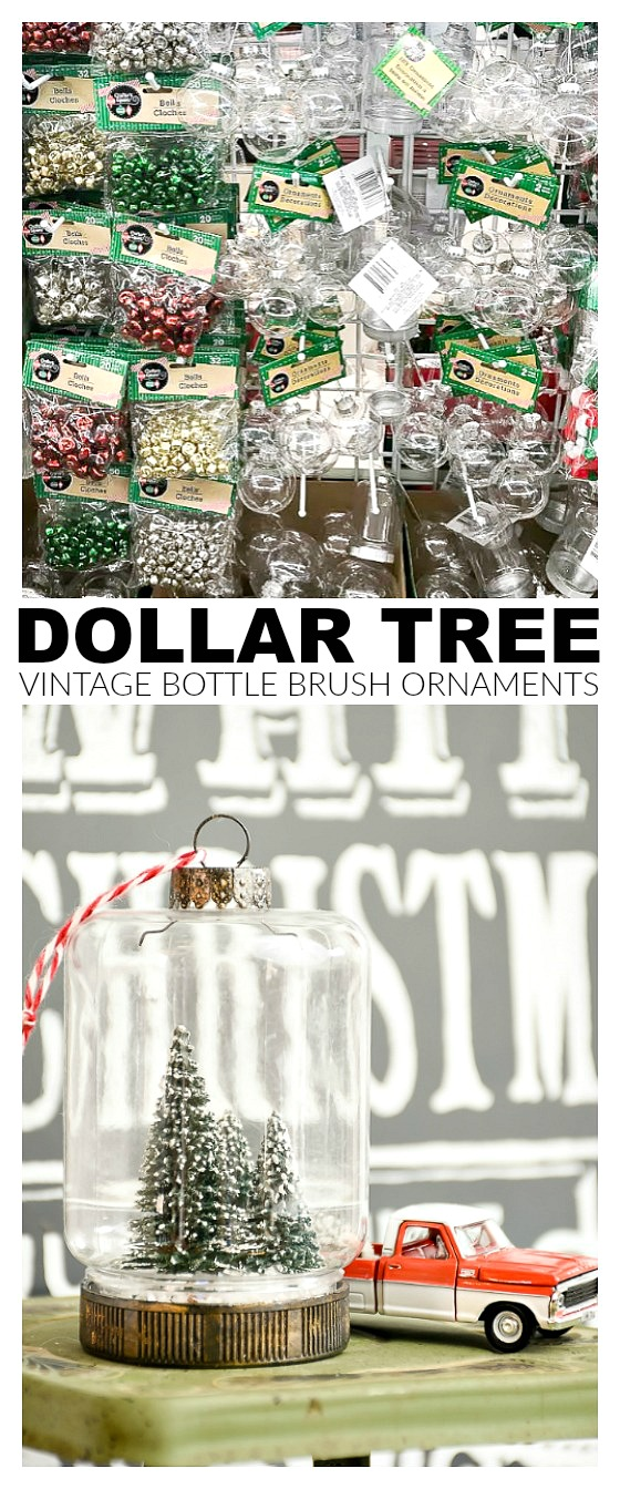 Vintage ornaments, diy ornaments, dollar tree, holiday decor