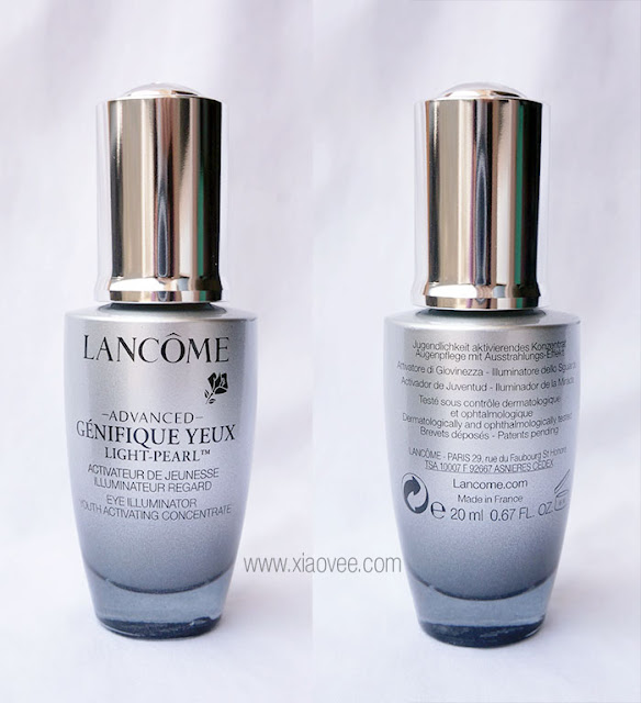 Lancome Advanced Génifique Yeux Light-Pearl Eye Illuminator Youth Activating Concentrate Review, Lancome Eye Illuminator Review