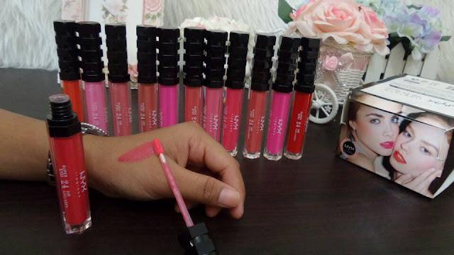 Lip Gloss NYX MY ART SOFT MATTE NYX Lipgloss