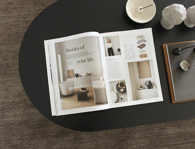 My Styling for Dulux in the Latest Issue of Homestyle