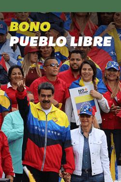 """Protección al pueblo! Arrancó asignación del Bono """"Pueblo Libre"""""""