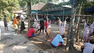 Pelaksanaan Qurban di Kampung KB Gumulan