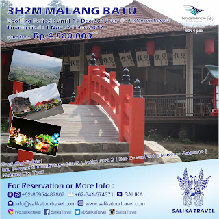 3H2M Malang Batu Private Stay Onsen Resort - Salika Travel