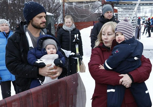 Prince Carl Philip, Prince Alexander, Prince Gabriel and her mother was there to support Princess Sofia