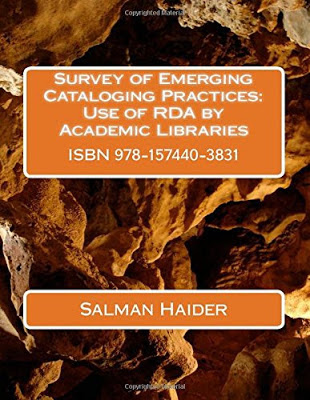 Survey of Emerging Cataloging Practices : Use of RDA by Academic Libraries