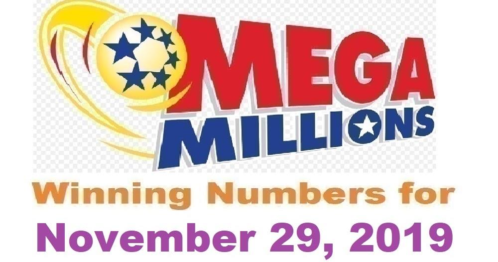 Mega Millions Winning Numbers for Friday, November 29, 2019