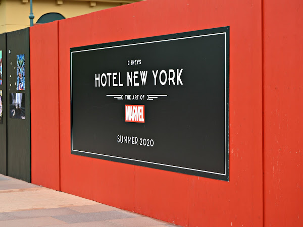 Disney Hotel New York - The Art of Marvel