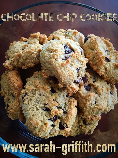 gluten free baking, gluten free cookies, fixate cookbook, gluten free, chocolate chip cookies, sarah griffith, top beachbody coach,