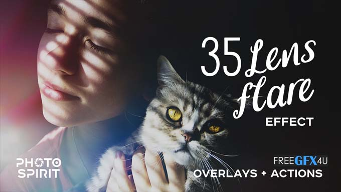 35 Lens Flare Effects Overlays And Actions