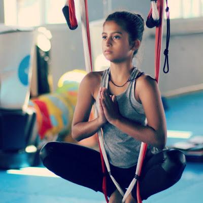 yoga aérien