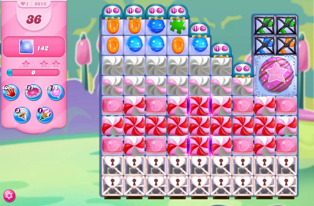 Candy Crush Saga level 9615