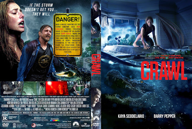 Crawl 2019 DVD Cover