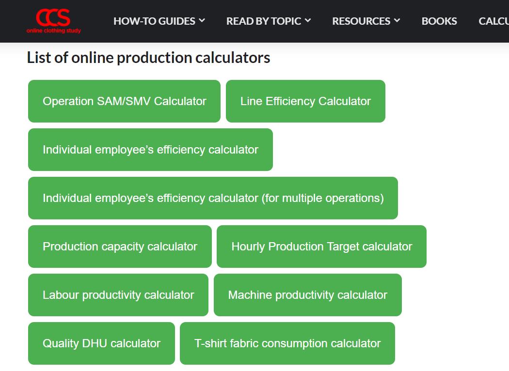 OCS calculator