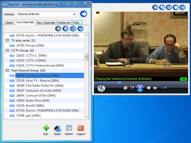 sopcast 3.5.0