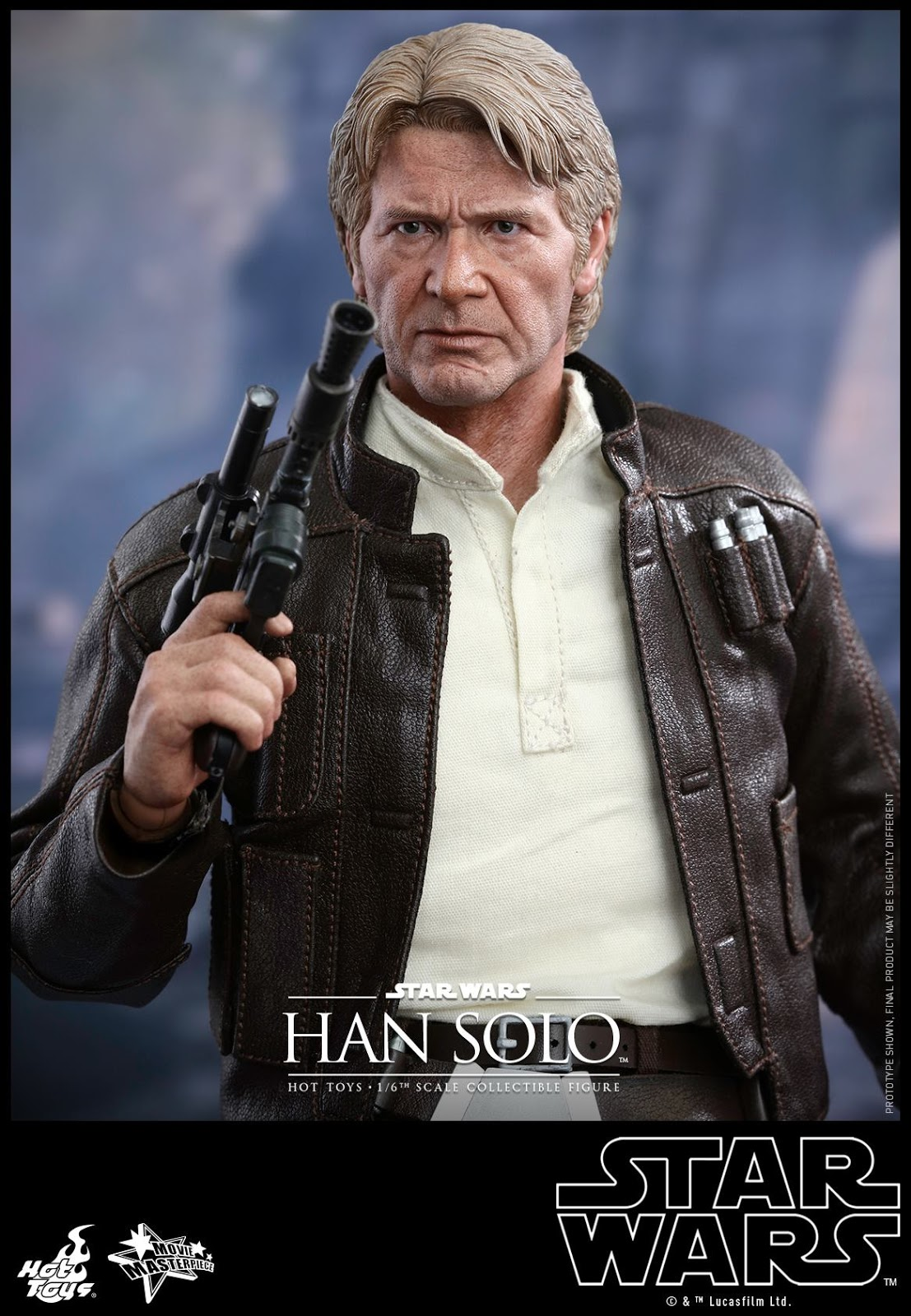 Hot Toys MMS261 Star Wars Episode IV A New Hope HAN SOLO Figure 1//6 HANDS #2