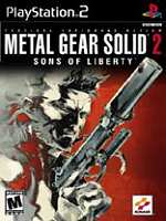 Metal%2BGear%2BSolid%2B2%2BSons%2BOf%2BLiberty - Metal Gear Solid 2 Sons Of Liberty   Ps2