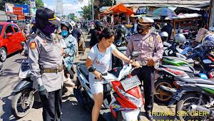 Pelaksanaan PSBB Proporsioanal Polsek Ujungberung Polrestabes Bandung