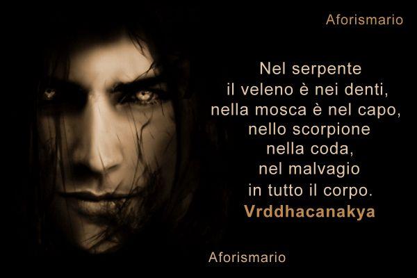 Top Aforismario®: Malvagità - Frasi sulle persone Malvagie AD26