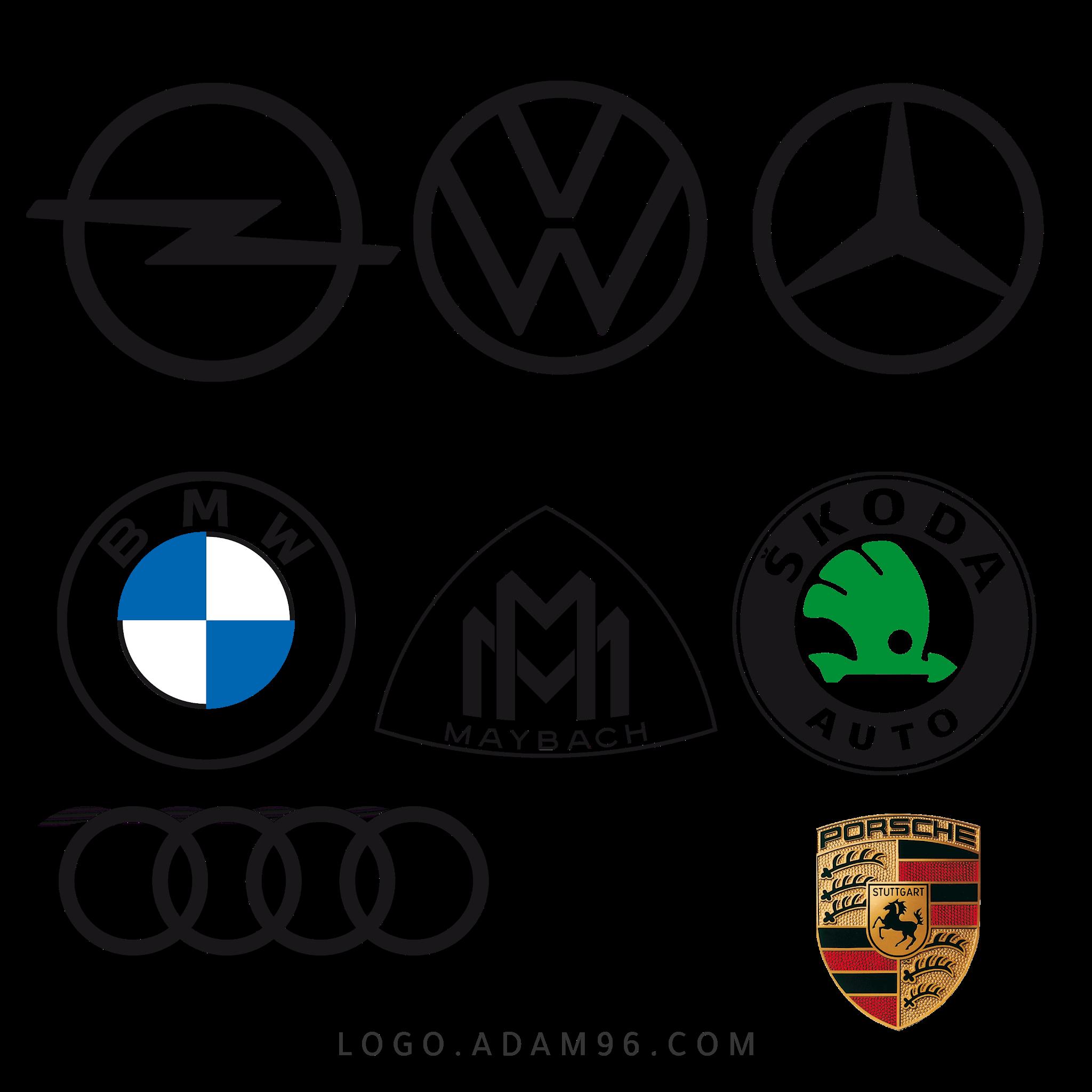 تحميل شعارات شركات سيارات الالمانية لوجو شركات سيارات بصيغة PNG