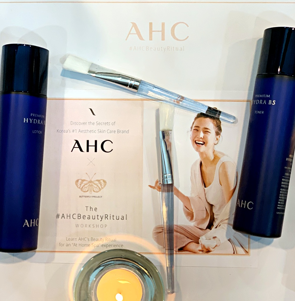 AHC Malaysia, The Butterfly Project Malaysia, Beauty by Rawlins, Rawlins GLAM, AHC Eyes Cream for Face, Love your skin, Love Yourself, AHC Beauty Ritual, K Beauty,