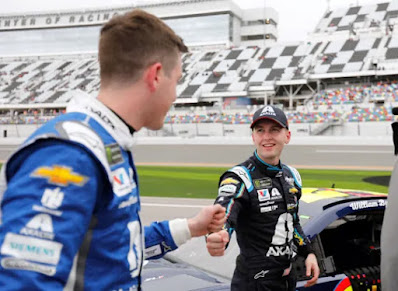 #48 Alex Bowman and #24 William Byron #nascar
