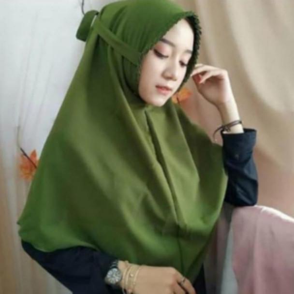 Jilbab Instan Bergo Maryam Lipit Diamond Murah