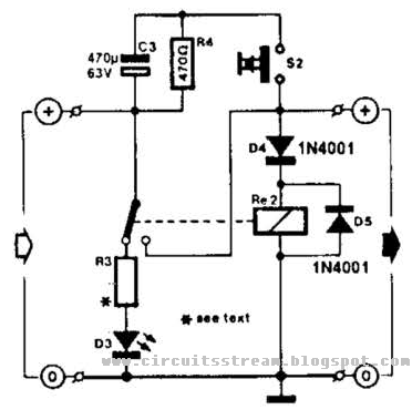 Simple Relay Fuse For Battery Charges Circuit Diagram