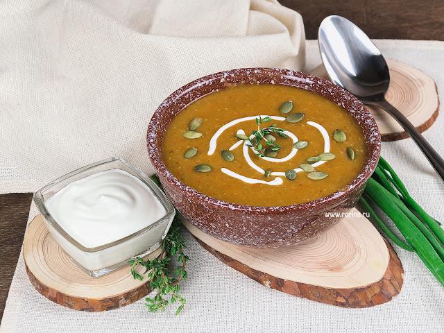 Чечевичный крем-суп: рецепт с фото