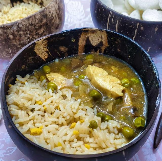 Chinese Chicken & Mushroom Curry | Slimming Friendly Chinese Fakeaway Recipe