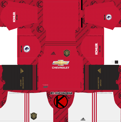 check out f46a7 a641a Manchester United 2019/2020 Kit - Dream League Soccer Kits ...