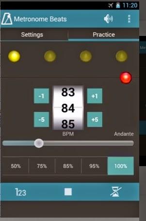 Metronomo para Android gratis Stonekick