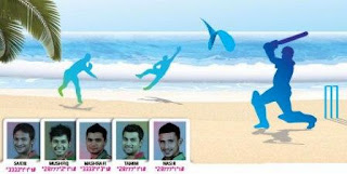 Grameenphone Play Beach Cricket with Sakib,Mashrafe,Tamim,Mushfiq,Nasir!