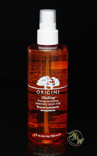 a photo of Origins GinZing Energy-Boosting Treatment Lotion Mist