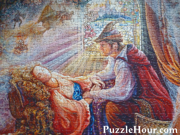 josephine wall sleeping beauty jigsaw puzzle fairytale once upon a time gibsons 500 piece prince princess