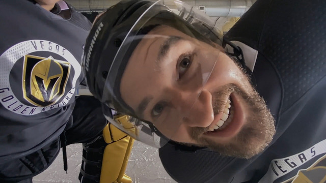 """GLP Director Gary Land Hits The Ice For Shot On iPhone's """"Hockey Tape"""""""